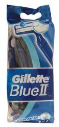 12 Units of GILLETTE BLUE II DISPOSABLE RAZOR 10PK - Store