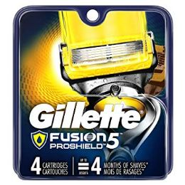 10 Units of GILLETTE FUSION PROSHIELD 4'S - Shaving Razors