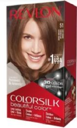 12 Units of COLOR SLIK #51 LIGHT BROWN - Hair Products