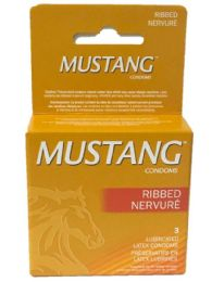 12 Units of Mustang Ribbed Brown 3pk - Personal Care Items