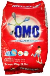18 Units of Omo 800 Gm Powder Laundry Detergent Ultra Clean - Laundry Detergent
