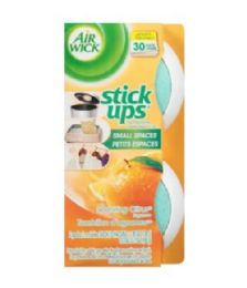 12 Units of AIR WICK STICK UP SPARKLING CITRUS 2PK - Air Fresheners