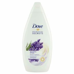 12 Units of Dove Bodywash 500 Ml Relaxing Ritual Lavender - Soap & Body Wash