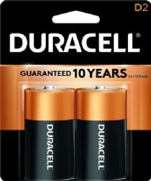 48 Units of DURACELL D 2 PK COPPERTONE BATTERIES - Batteries