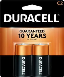 48 Units of DURACELL C 2 PK COPPERTONE BATTERIES - Batteries