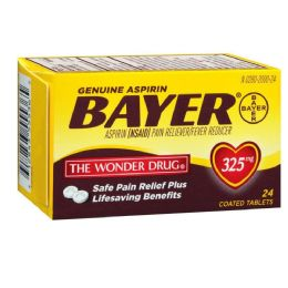 12 Units of Bayer Tablet 12/24's - Pain and Allergy Relief