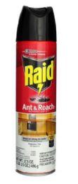 12 Units of RAID ANTANDROACH KILLER 17OZ FRANGRANCE FREE TWIN PACK MUAST BE BROKEN - Bug Repellants