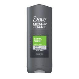 12 Units of Dove Bodywash 400 Ml Extra Fresh Men - Soap & Body Wash