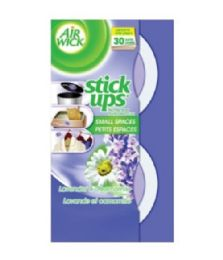 12 Units of AIR WICK STICK UP LAVENDER AND CHAMOMILE 2PK - Air Fresheners