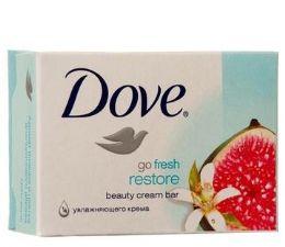 48 Units of Dove Bar Soap 135g Go Fresh Restore - Soap & Body Wash