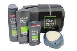 6 Units of DOVE GIFT SET (BODYANDFACE WASH 400 ML SHAMPOO+CONDITIONER 355 ML DOVE DEODORANT 76G AND BONUS SHOWER TOOL) - Shampoo & Conditioner