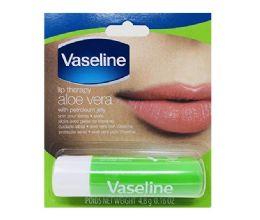 24 Units of VASELINE LIP THERAPY 0.16 OZ ALOE VERA - Lip Gloss