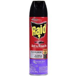 12 Units of RAID ANTANDROACH KILLER LAVENDER 17.5 OZ - Bug Repellants