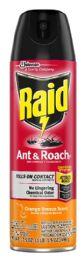 12 Units of RAID ANTANDROACH KILLER ORANGE BREEZE 17.5OZ - Bug Repellants