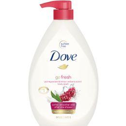 12 Units of JANDJ BODY WASH 750 ml POMEGRANATE - Soap & Body Wash
