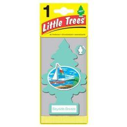 24 Units of LITTLE TREE BAYSIDE BREEZE CAR FRESHENER 1'S - Store