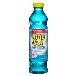 12 Units of PINE -SOL CLEANER 28 oz SPARKLING WAVE - Store