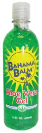 12 Units of Bahama Balm After Sun Gel 16 Oz Aloe Vera - Personal Care Items