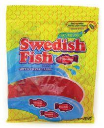 12 Units of Swedish Fish 4 Oz Peg Bag - Food & Beverage