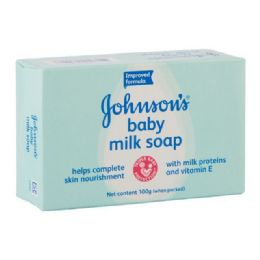 96 Units of Jandj's Baby Soap Milk 100gm - Baby Beauty & Care Items