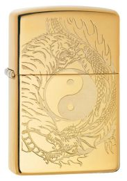 ZIPPO TIGER AND DRAGON DESIGN - Lighters