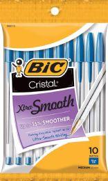 12 Units of Bic Crystal Ball Pen 10pk Blue - Pens