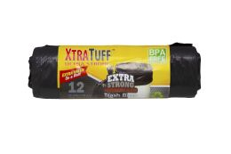 48 Units of Xtratuff Trash Bag 26gal 12 Ct Rolls - Garbage & Storage Bags