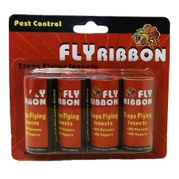 48 Units of Fly Ribbon 4pk Bugandfly Catcher - Store