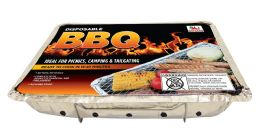 9 Units of INSTANT BBQ GRILL 12.25 X 19 WITH CHARCOAL - BBQ supplies