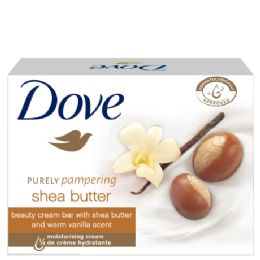 12 Units of Dove Bar Soap 3 Pk 3.17 Oz Shea Butter - Soap & Body Wash