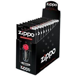 24 Units of ZIPPO 6 FLINT DISPLAY CARD - Lighters