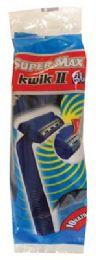 36 Units of Supermax Razors 10 Pk. BluE- Disposable - Shaving Razors