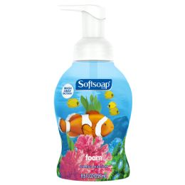 6 Units of SOFT SOAP 8.5 OZ FOAMING LIQ SOAP AQUARIUM W/PUMP ** 5 CASE MINIMUM** - Soap & Body Wash