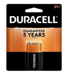 48 Units of DURACELL 9V 1 PK COPPERTOP BATTERIES - Store