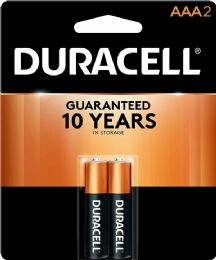 54 Units of DURACELL AAA 2 PK COPPERTOP BATTERIES - Store