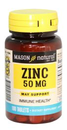 12 Units of MASON ZINC 50 MG 100 TABLET - Store
