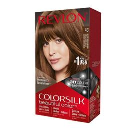 12 Units of Color Silk #43 Medium Golden Brown - Hair Products