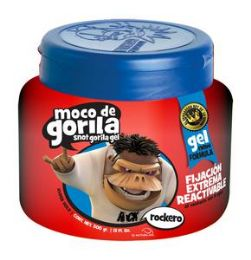 12 Units of Moco De Gorila 9.5 Oz Red Hair Gel - Hair Products