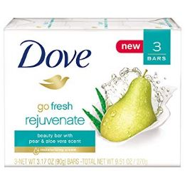 12 Units of Dove Bar Soap 3 Pk 3.17 Oz Rejuvenate - Soap & Body Wash