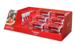 42 Units of COLGATE MIX DISPLAY OPTIC WHITE 5 OZ (36 PCS) OPTIC WHITE TOOTHBRUSH SOFT 2 PK (6 PCS) - Store