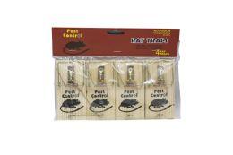 48 Units of Pest Control Wooden Mouse Trap 4pk - Pest Control