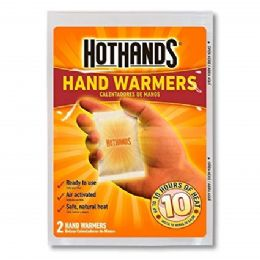 40 Units of Hot Hands Hand Warmers - Camping Gear