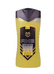 12 Units of AXE BODYWASH 250 ML/8.5 OZ 6 IN 1 CLEAN FRESH YOU - Soap & Body Wash