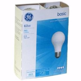 12 Units of Ge Basic Light Bulb 60 Watt 4pk - Lightbulbs