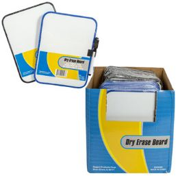 36 Units of Dry Erase Board Magnetic 6x8 W/marker 2ast Color Frame 36pdq - Office Accessories