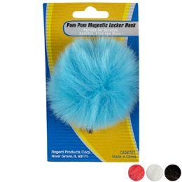 36 Units of Pom Pom Locker Hook Magnetic - Pom Poms and Feathers