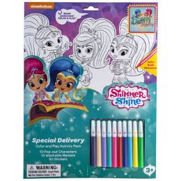 8 Units of Activity Kit Shimmer Shine - Crosswords, Dictionaries, Puzzle books