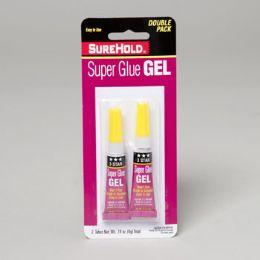 72 Units of Super Glue Gel 2pk .14oz - Glue