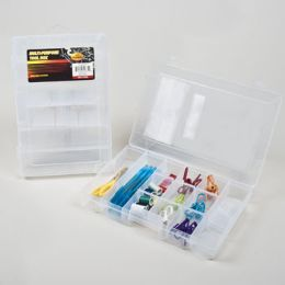12 Units of Storage Box Multi Purpose Clear - Storage & Organization