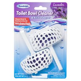 24 Units of Toilet Bowl Cleaner 2pk Lavender - Cleaning Products
